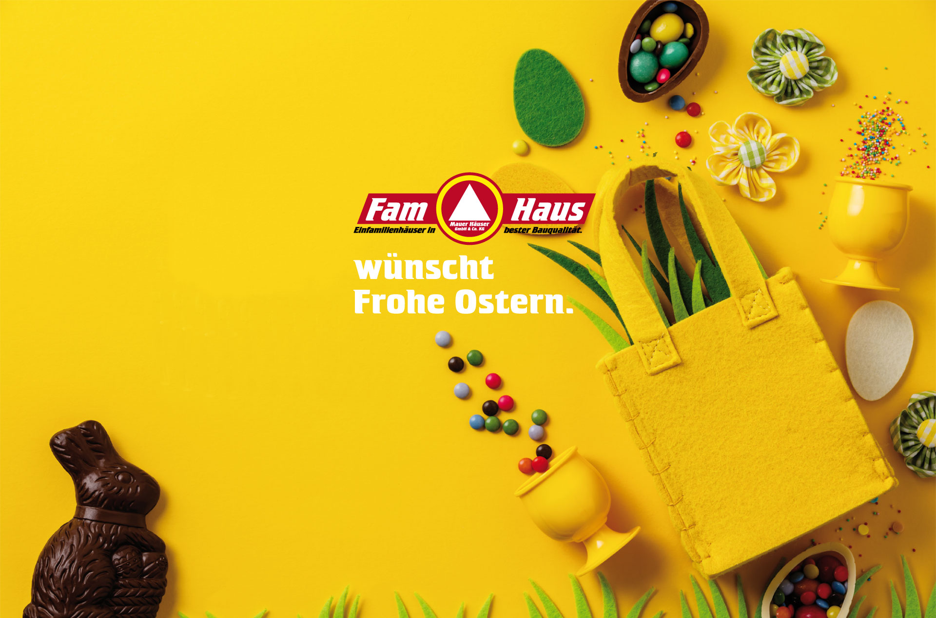 Fam Haus Frohe Ostern